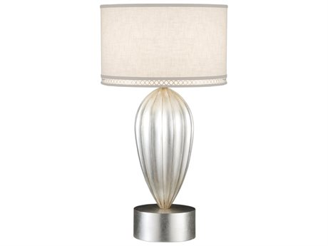 Fine Art Lamps Allegretto Silver 793110ST Table Lamp FA793110ST