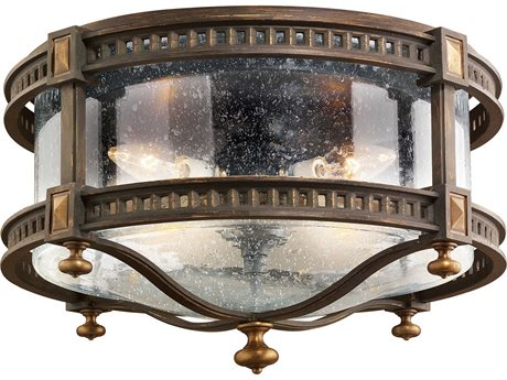 Fine Art Lamps Beekman Place 564982ST Four-Light Outdoor Ceiling Light
