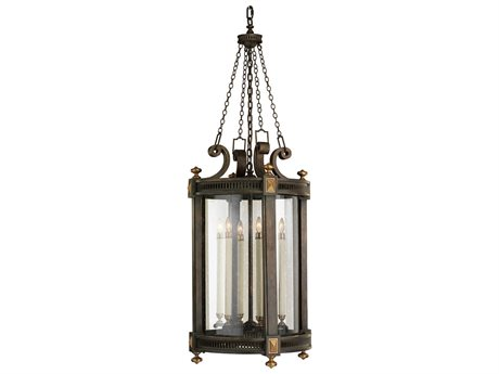 Fine Art Lamps Beekman Place 564382ST Five-Light Outdoor Hanging