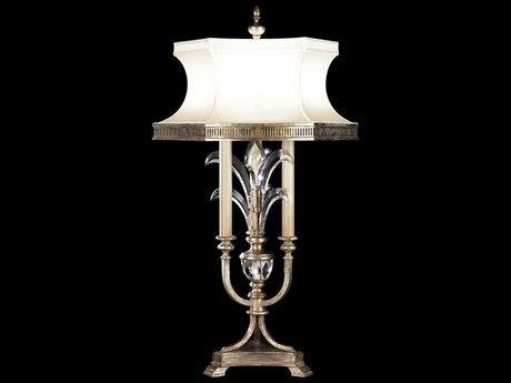 Fine Art Lamps Beveled Arcs 738210ST Three-Light Table Lamp FA738210ST
