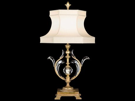 Fine Art Lamps Beveled Arcs Gold 762010ST Table Lamp FA762010ST