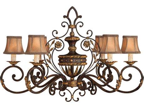 Fine Art Lamps Castile 218540ST Six-Light 39'' Wide Grand Chandelier FA218540ST