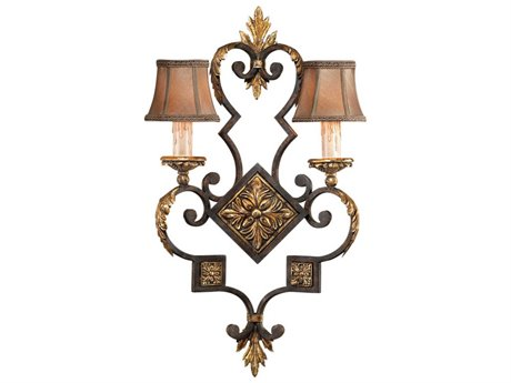 Fine Art Lamps Castile 234350ST Two-Light Wall Sconce FA234350ST