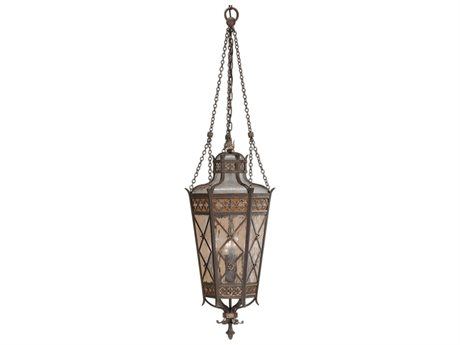 Fine Art Lamps Chateau Outdoor 402582ST Four-Light Outdoor Hanging