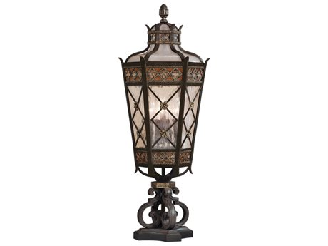 Fine Art Lamps Chateau Outdoor 403983ST Five-Light Outdoor Post Light