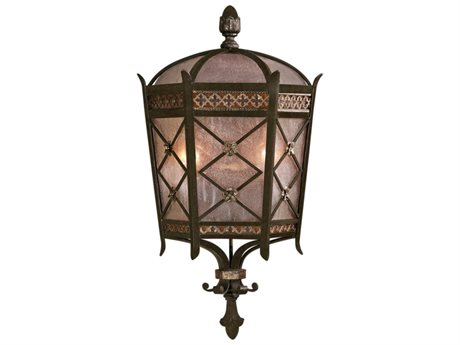 Fine Art Lamps Chateau Outdoor 402781ST Two-Light Outdoor Wall Light FA402781ST
