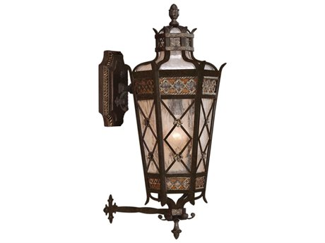 Fine Art Lamps Chateau Outdoor 403481ST Four-Light Outdoor Wall Light FA403481ST