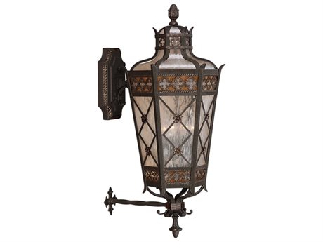 Fine Art Lamps Chateau Outdoor 403681ST Four-Light Outdoor Wall Light FA403681ST