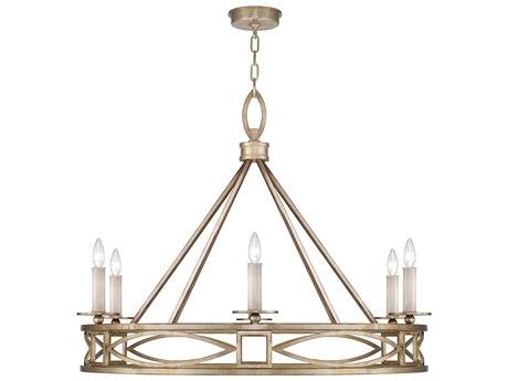 Fine Art Lamps Cienfuegos Six-Light 37.5'' Wide Chandelier FA8876403ST