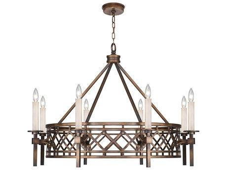 Fine Art Lamps Cienfuegos Eight-Light 38'' Wide Chandelier FA8894401ST