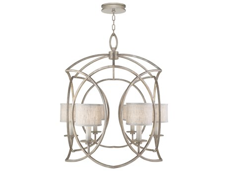 Fine Art Lamps Cienfuegos Six-Light 3A'' Wide Chandelier with Shade FA88984021ST