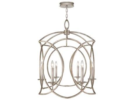 Fine Art Lamps Cienfuegos Six-Light 28.5'' Wide Chandelier FA8898402ST