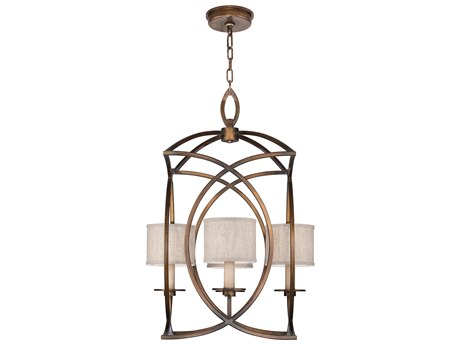 Fine Art Lamps Cienfuegos Four-Light 22'' Wide Mini Chandelier with Shade FA88774011ST