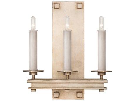 Fine Art Lamps Cienfuegos Soft Gold Three-Light Wall Sconce FA8889503ST