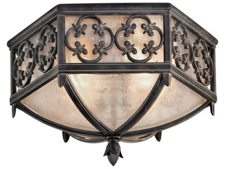 Fine Art Lamps Costa Del Sol 324882ST Two-Light Outdoor Ceiling Light FA324882ST