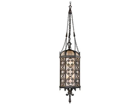 Fine Art Lamps Costa Del Sol 325282ST Four-Light Outdoor Hanging
