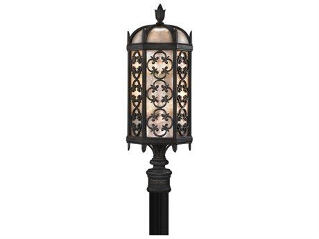 Fine Art Lamps Costa Del Sol 541480ST Three-Light Outdoor Post Light