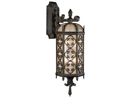 Fine Art Lamps Costa Del Sol 338381ST Three-Light Outdoor Wall Light FA338381ST