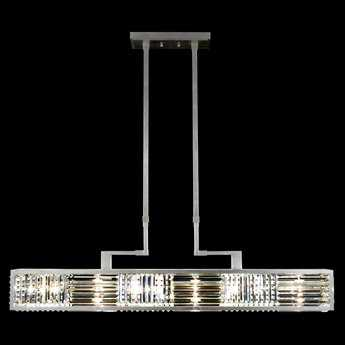 Fine Art Lamps Crystal Enchantment 812240ST Six-Light Pendant FA812240ST