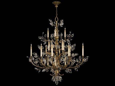 Fine Art Lamps Crystal Laurel Gold 774440ST 20-Light 57'' Wide Grand Chandelier