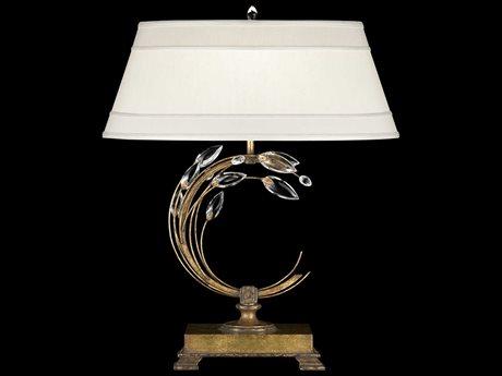 Fine Art Lamps Crystal Laurel Gold 773210ST Table Lamp FA773210ST