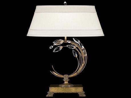 Fine Art Lamps Crystal Laurel Gold 778010ST Table Lamp FA778010ST