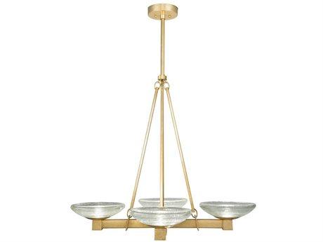 Fine Art Lamps Delphi 34'' Wide Glass LED Medium Chandelier FA895940