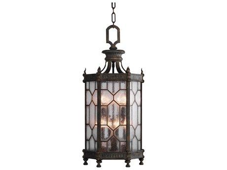 Fine Art Lamps Devonshire Antique Bronze Eight-Light Outdoor Lantern FA4142821ST