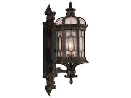 Fine Art Lamps Devonshire Antique Bronze Outdoor Wall Light FA4137811ST