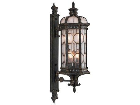 Fine Art Lamps Devonshire Antique Bronze Four-Light 13'' Wide Outdoor Wall Light FA4139811ST