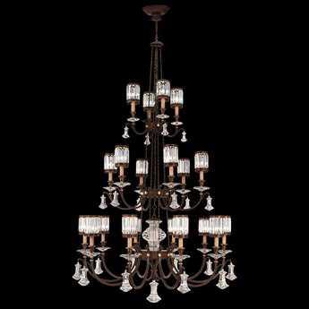 Fine Art Lamps Eaton Place 584840ST 20-Light 52'' Wide Grand Chandelier