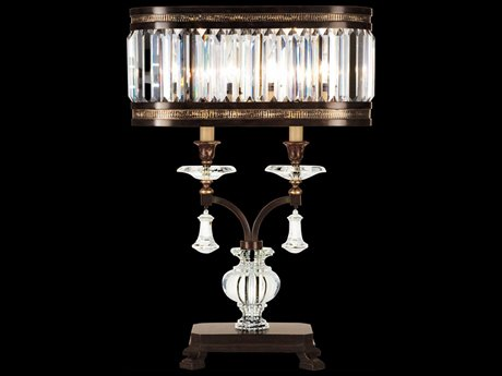 Fine Art Lamps Eaton Place 606010ST Two-Light Table Lamp FA606010ST