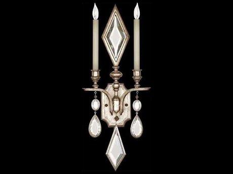 Fine Art Lamps Encased Gems 729050-3ST Two-Light Wall Sconce