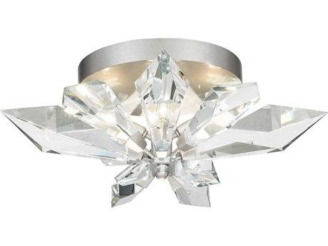 Fine Art Lamps Foret Gold 24'' Wide Crystal Flush Mount Light FA9018402ST