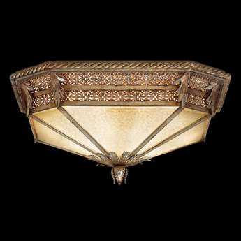 Fine Art Lamps Gourmet 618440ST Two-Light Flush Mount Light FA618440ST