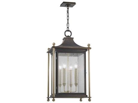 Fine Art Lamps Highland Park Bronze Outdoor Hanging Light FA886182ST