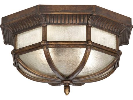 Fine Art Lamps Holland Park 845282ST Two-Light Outdoor Ceiling Light