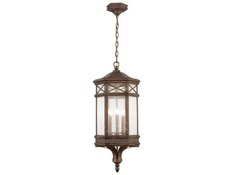 Fine Art Lamps Holland Park 837082ST Three-Light Outdoor Hanging