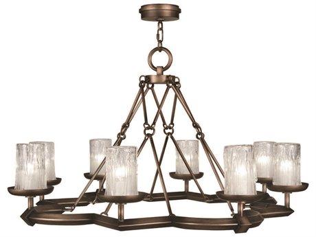 Fine Art Lamps Liaison 860340ST Eight-Light 40'' Wide Grand Chandelier FA860340ST