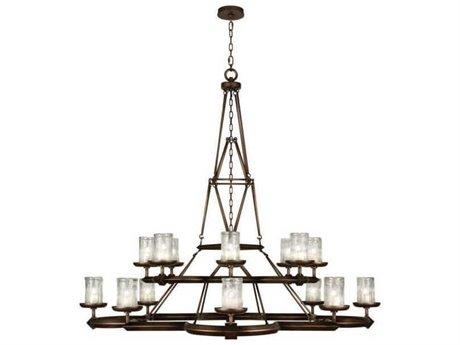 Fine Art Lamps Liaison 860540ST 16-Light 58'' Wide Grand Chandelier FA860540ST