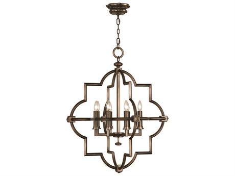 Fine Art Lamps Liaison 860040ST Eight-Light Pendant FA860040ST