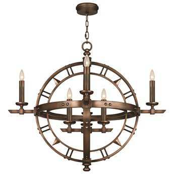 Fine Art Lamps Liaison 860140ST Eight-Light Pendant FA860140ST