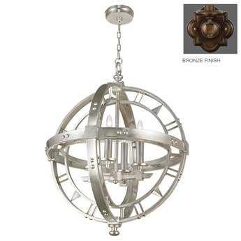 Fine Art Lamps Liaison 861240ST Four-Light Pendant FA861240ST