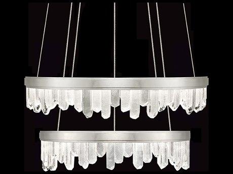 Fine Art Lamps Lior Glass Spires 41'' Wide LED Chandelier FA8897401ST