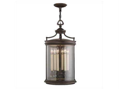 Fine Art Lamps Louvre 538182ST Six-Light Outdoor Hanging