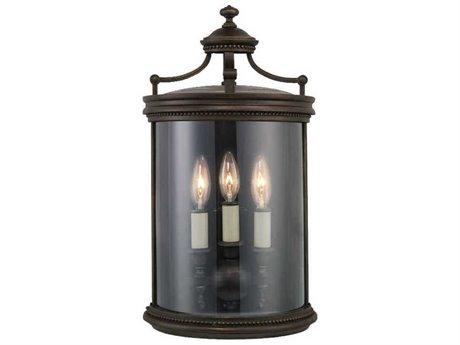 Fine Art Lamps Louvre 539081ST Three-Light Outdoor Wall Light FA539081ST