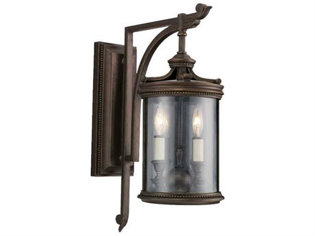 Fine Art Lamps Louvre 542281ST Two-Light Outdoor Wall Light FA542281ST