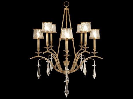 Fine Art Lamps Monte Carlo 567540ST Eight-Light 40'' Wide Grand Chandelier FA567540ST