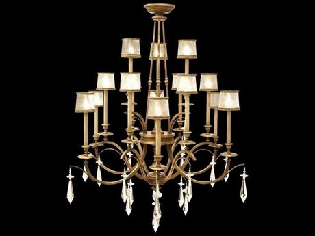 Fine Art Lamps Monte Carlo 567740ST 15-Light 58'' Wide Grand Chandelier