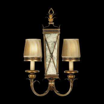 Fine Art Lamps Newport 548250ST Two-Light Wall Sconce FA548250ST